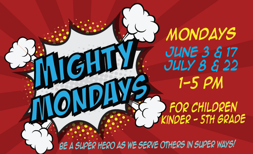 Mighty Mondays - Wet and Wild!